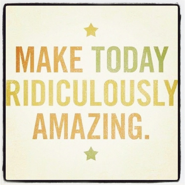 Make-today-Amazing