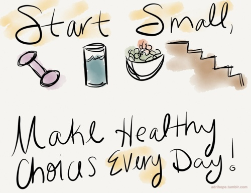 Start-Small-make-healthy-choices-every-day