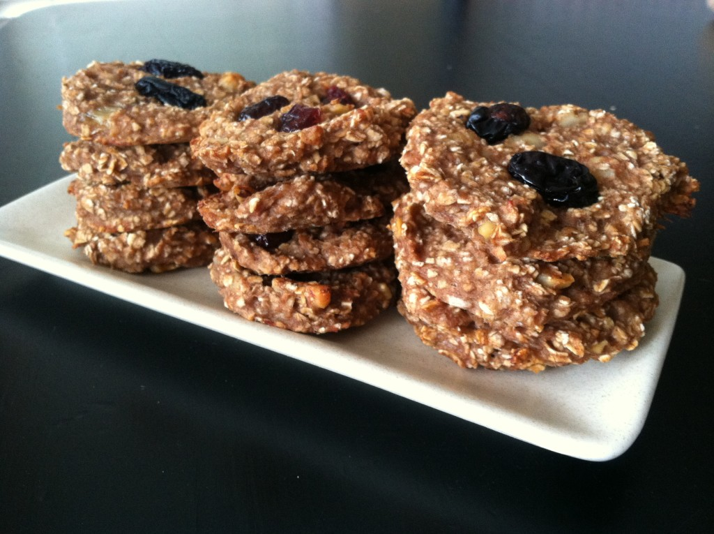 2 PointsPlus Banana Oatmeal Cookies